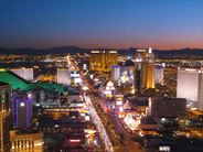 The Strip at night, Las Vegas - Escorted Tours in the USA