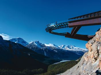 Alberta's Glacier Skywalk