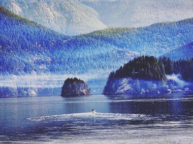 Exploring Deep Cove, Vancouver