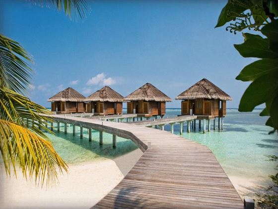 Access to the Spa rooms at Lux Maldives