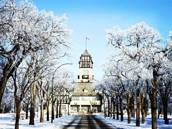 Assiniboine Park in the winter, Winnipeg
