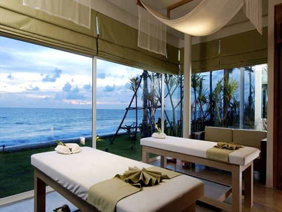 Couples spa room at Aleenta Phuket - Phang Nga Resort and Spa