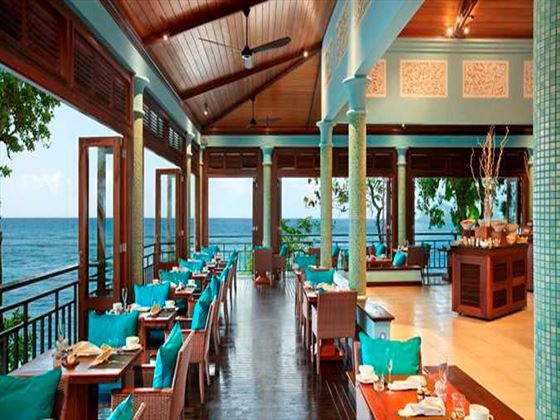 Hilltop restaurant at Hilton Seychelles Northolme Resort & Spa
