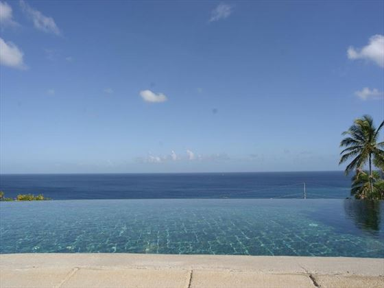 Ocean views from the club house pool at The Villas at Stonehaven