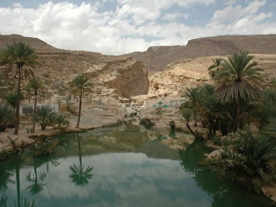 Beautiful scenery of Oman