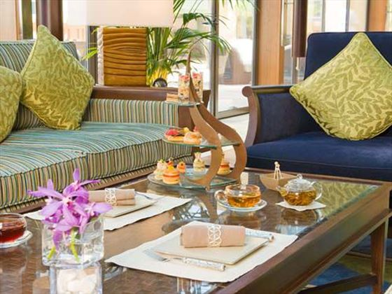 Plantation lounge at Sofitel Dubai Jumeirah