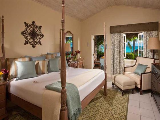 Sandals Halcyon Beach St Lucia Romeo and Juliet Beachfront Room