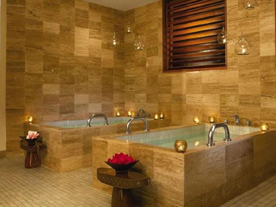 Spa treatment tub at Now Sapphire Riviera Cancun