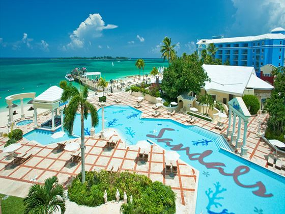 Swimming pool at Sandals Royal Bahamian Spa Resort