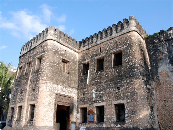 Traditional fort at Stone Town, Zanzibar
