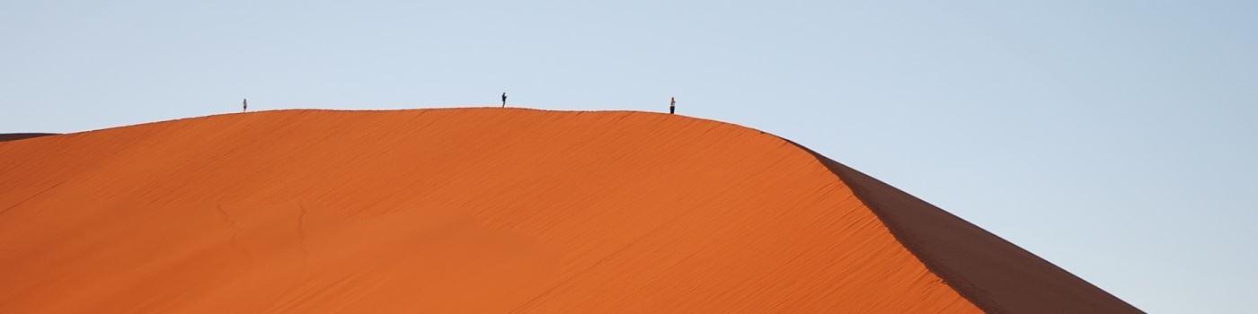 Alex - Namibia sand dunes