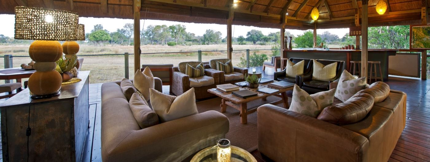 Chitabe Lebida Camp main lounge