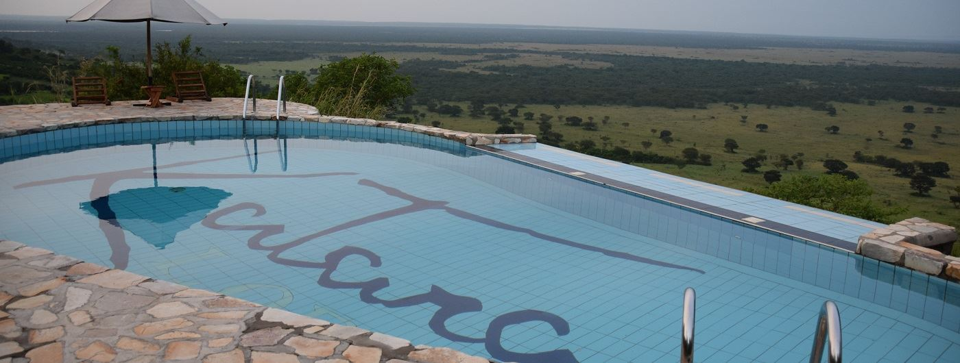 Katara Lodge swimming pool
