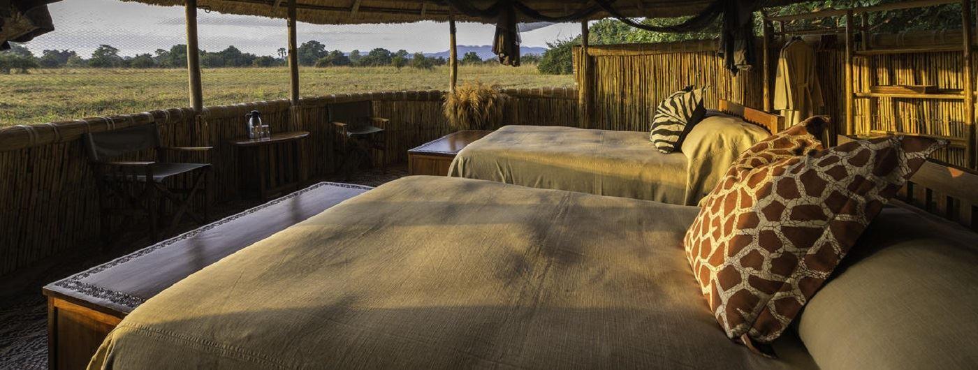 Kuyenda Bush Camp chalet interior