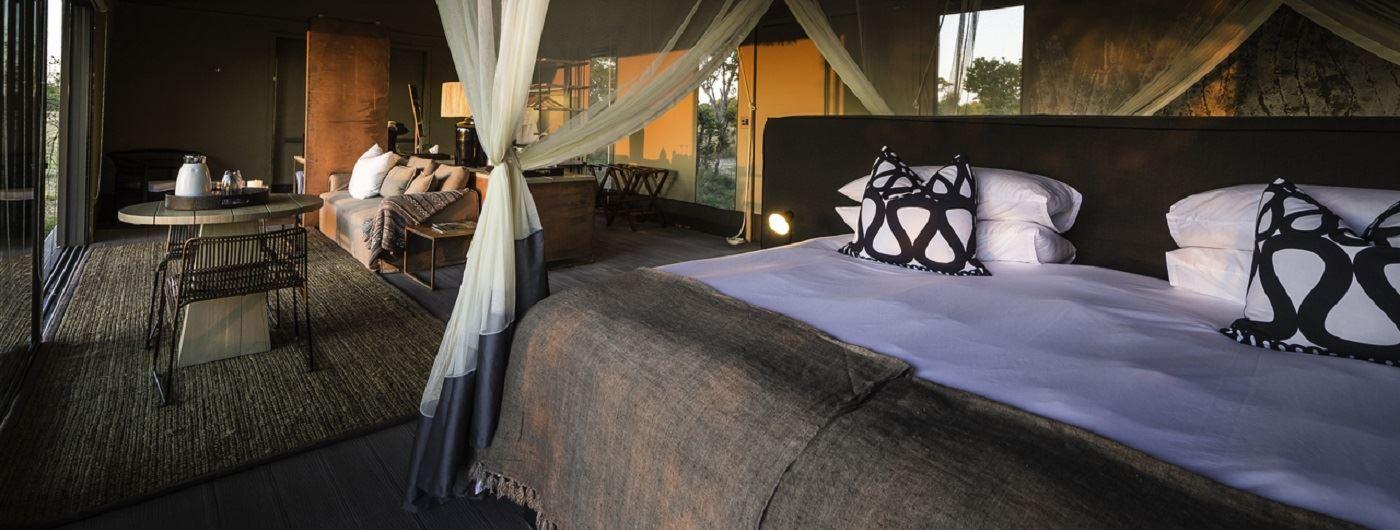 Linkwasha Camp tent interior