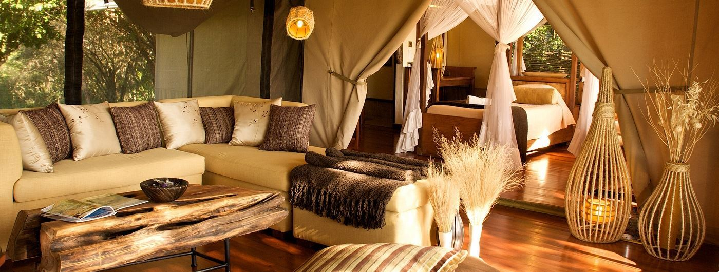 Mara Intrepids Camp main lounge