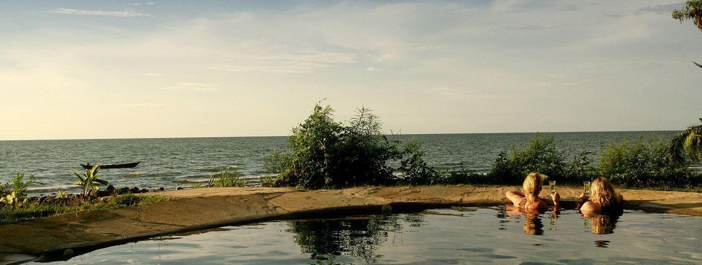 Mfangano Island Camp main pool