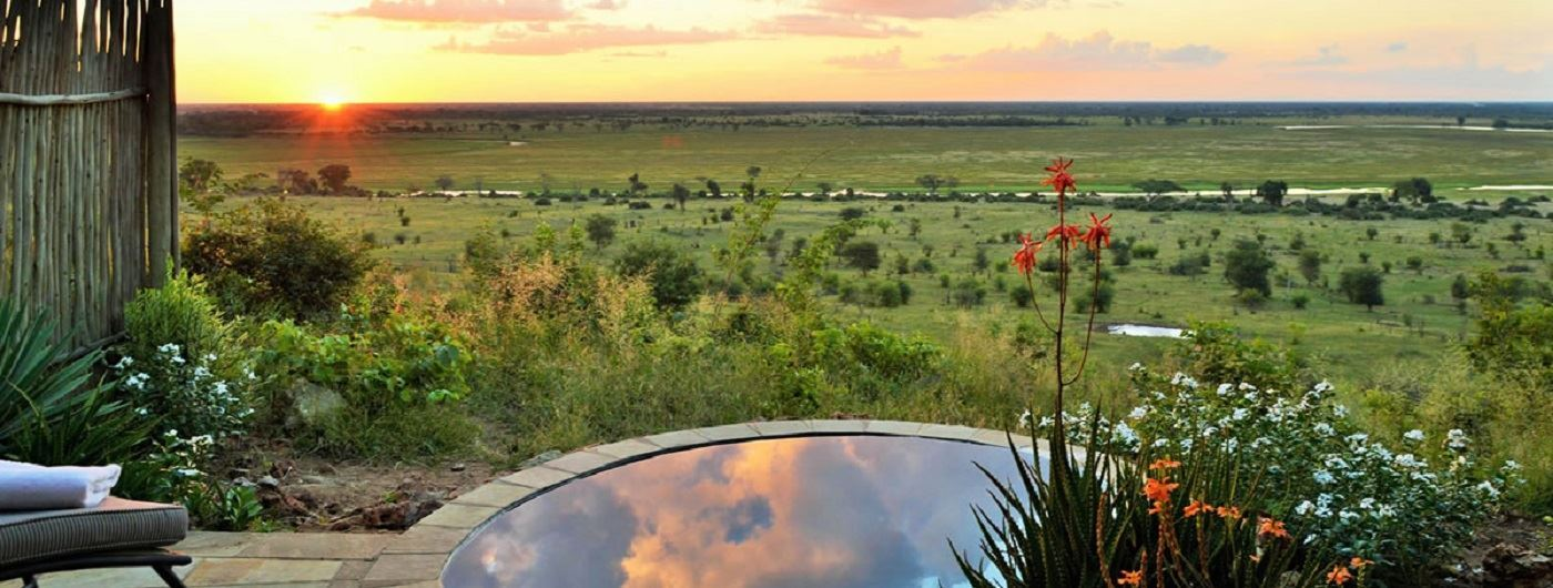 Ngoma Safari Lodge pirvate pool