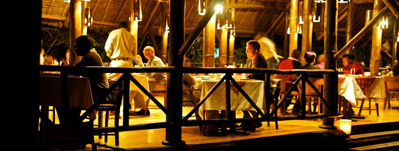 Samburu Intrepids Luxury Tented Camp dining