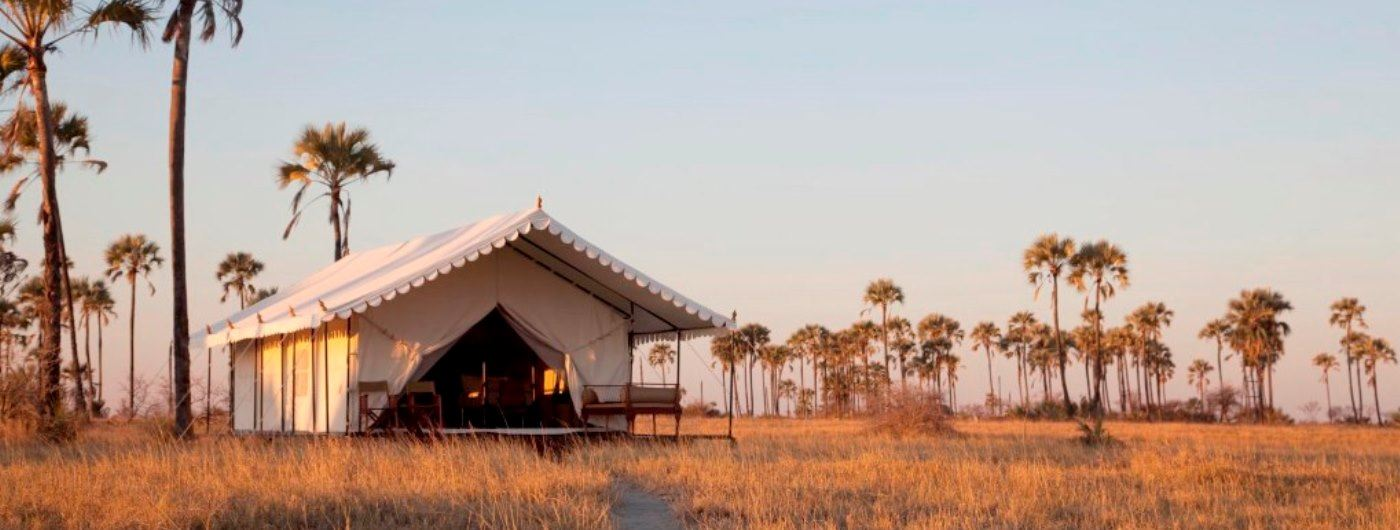 San Camp tent exterior