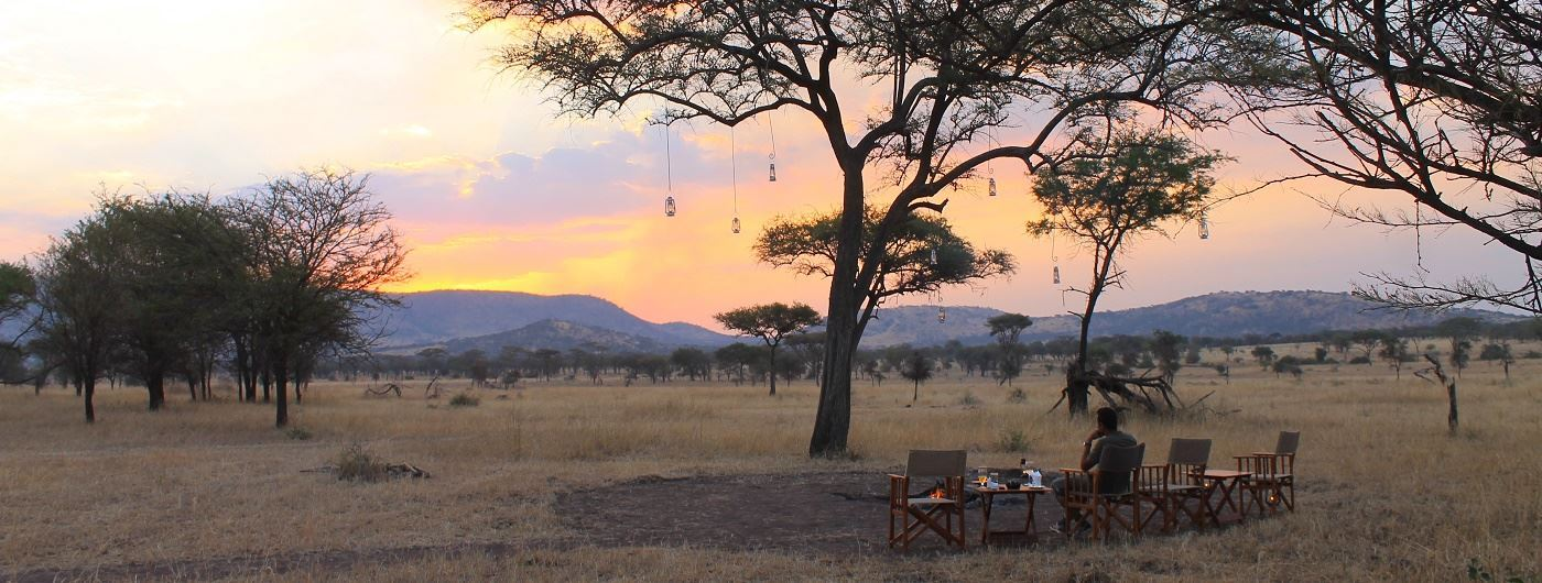 Sundowners at Nimali Central Serengeti