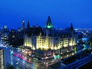 Exterior at night - Ottawa Holidays