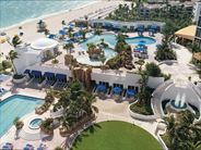 Aerial view of resort and beach - USA Beach Holidays