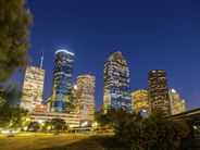 Houston at night - Escorted Tours in the USA