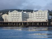 Hotel Exterior from Monterey Bay - California Holidays