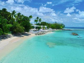 Cobblers Cove - Beach aeirial view - Barbados & Silversea Cruise