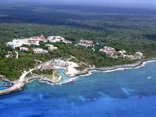 Aerial view of Occidental Grand Xcaret - Caribbean Holidays