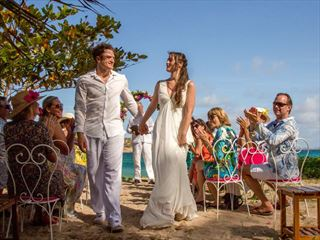 Glorious hideaway weddings at Bequia Beach Hotel