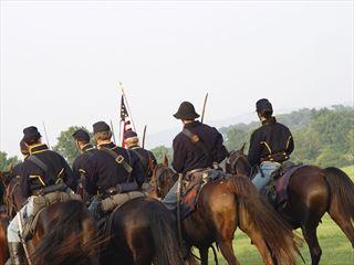 Civil war reeenactment, Gettysburg