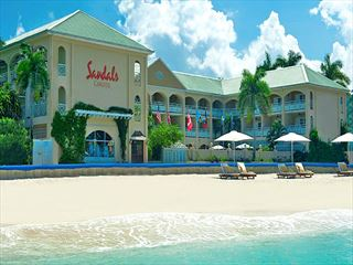 Exterior view of Sandals Inn