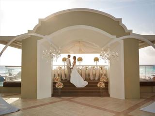 The Oceanfront Wedding Gazebo at Gran Caribe Resort & Spa