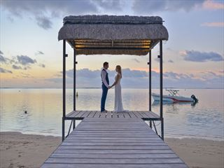 Wedding at LUX* Le Morne