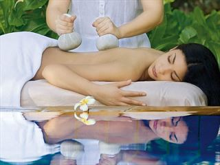 Massage treatments at One&Only Le Saint Geran Spa