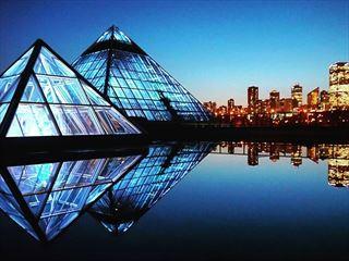 Muttart Conservatory Pyramids, Edmonton