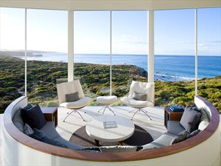 Osprey Pavilion Lounge at Southern Ocean Lodge