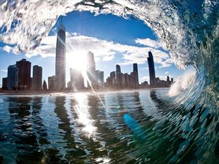 Surfers Paradise on Queensland's Gold Coast