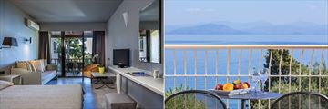 Bungalow Superior Sea View and Deluxe Room at Aeolos Beach Resort