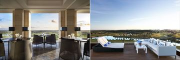 EMO Restaurant and Presidential Suite terrace at Anantara Vilamoura Algarve Resort