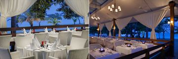 The Heliconia Restaurant at Couples Negril
