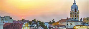 Cartagena at sunset