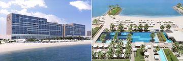 Fairmont Bab Al Bahr, Hotel, Beach and Pools