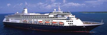 Holland America Zaandam cruise ship exterior