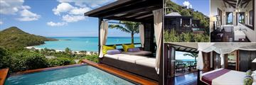 Hillside Pool Suite at Hermitage Bay