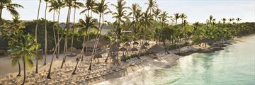 The beach at Hilton La Romana Resort & Spa