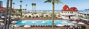 Main Pool, Hotel Del Coronada