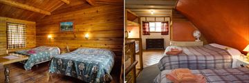 Rustic Wood Cabin Accommodation, La Reata Ranch